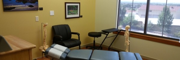 Drop table used at Favero Chiropractic