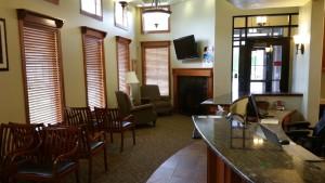 Reception Area – Favero Chiropractic