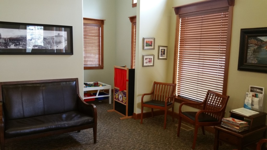 Reception With Child Play Area – Favero Chiropractic